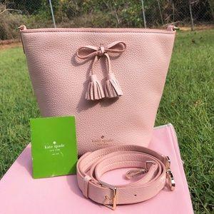 Kate Spade Warm Vellum Pink Bucket Bag, Hayes St